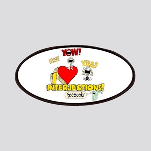 I Heart Interjections Patches