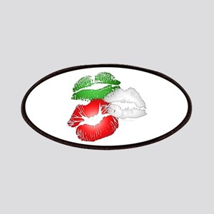 Italian Kissing Lips Patches