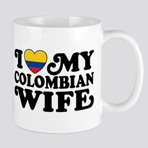 I Love My Colombian Wife Mug