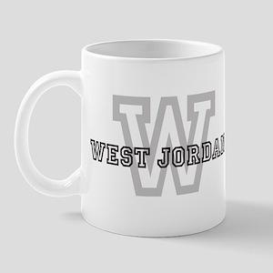 Letter W: West Jordan Mug