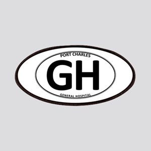 General Hospital - GH Oval Patches