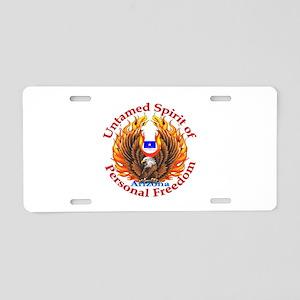 Untamed AZ Spirit Aluminum License Plate