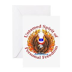 Untamed AZ Spirit Greeting Card