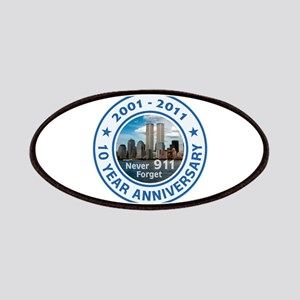 911 Anniversary Patches