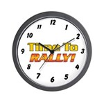 (Time To Rally) Wall Clock