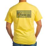 Crown King Yellow T-Shirt