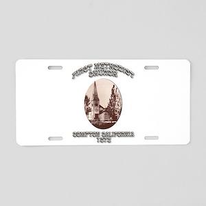 Compton Methodist Church Aluminum License Plate