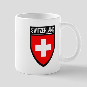 Switzerland Flag Patch Mug