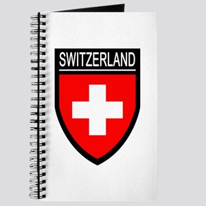 Switzerland Flag Patch Journal