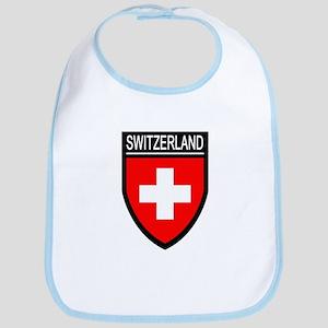 Switzerland Flag Patch Bib