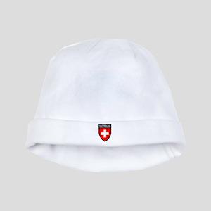 Switzerland Flag Patch baby hat