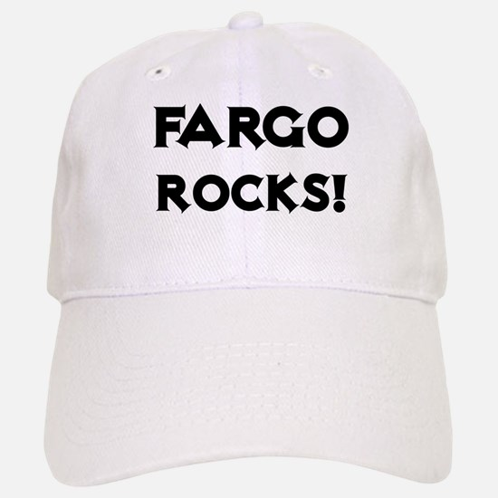 Fargo Rocks! Baseball Baseball Cap
