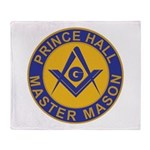 Prince Hall Master Masons Throw Blanket