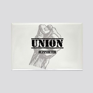 Union Supporter Rectangle Magnet