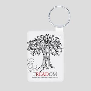 Freadom Aluminum Photo Keychain