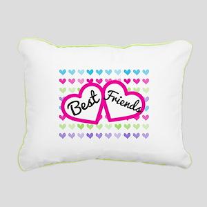 Best Friends Rectangular Canvas Pillow