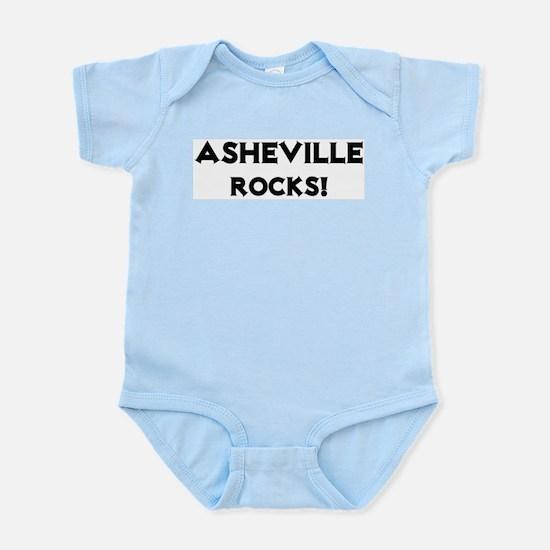 Asheville Rocks! Infant Creeper