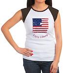 Enjoy Liberty Women's Cap Sleeve T-Shirt