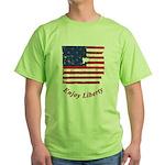 Enjoy Liberty Green T-Shirt