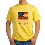 Enjoy Liberty Yellow T-Shirt