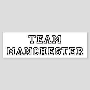 Team Manchester Bumper Sticker