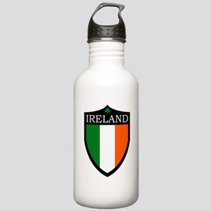Ireland Flag Patch Stainless Water Bottle 1.0L
