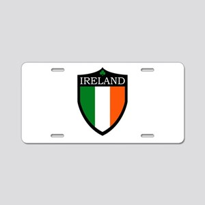 Ireland Flag Patch Aluminum License Plate
