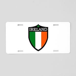 Ireland Flag Patch Aluminum License Plate