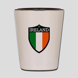 Ireland Flag Patch Shot Glass