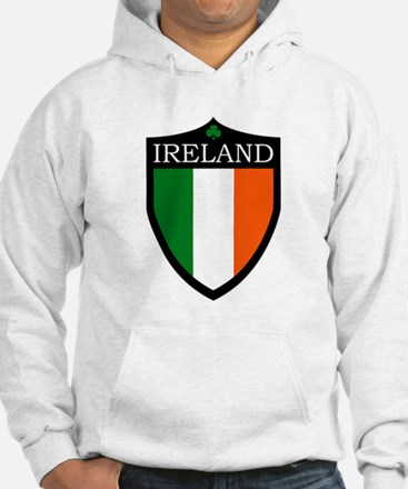 Ireland Flag Patch Hoodie