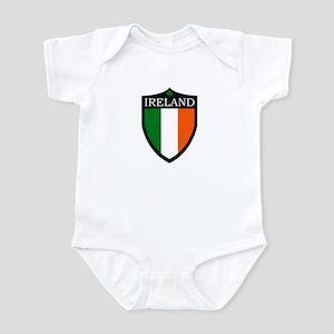 Ireland Flag Patch Infant Bodysuit