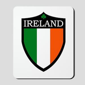 Ireland Flag Patch Mousepad