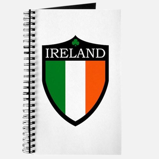 Ireland Flag Patch Journal