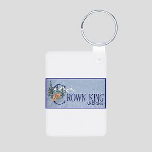 Crown King Aluminum Photo Keychain