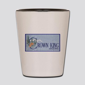 Crown King Shot Glass