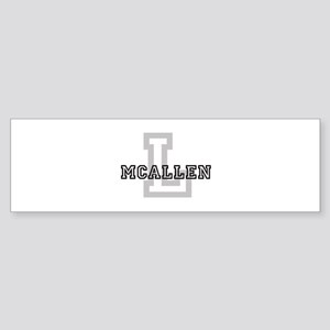 Letter M: McAllen Bumper Sticker