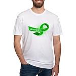 Kidney Disease Survivor Fitted T-Shirt