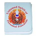 Untamed AZ Spirit baby blanket