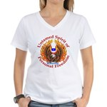 Untamed WY Spirit Women's V-Neck T-Shirt