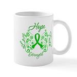 Kidney Disease Hope Faith Deco Mug