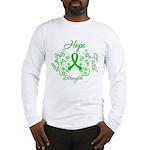 Kidney Disease Hope Faith Deco Long Sleeve T-Shirt