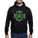 Kidney Disease Hope Faith Deco Hoodie (dark)