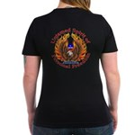Untamed AZ Spirit Women's V-Neck Dark T-Shirt