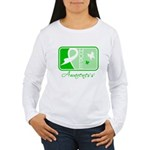 Kidney Disease Hope Women's Long Sleeve T-Shirt