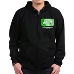 Kidney Disease Hope Zip Hoodie (dark)