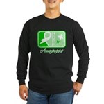 Kidney Disease Hope Long Sleeve Dark T-Shirt