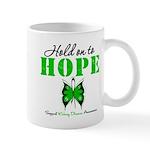 Kidney Disease Hold On To Hop Mug