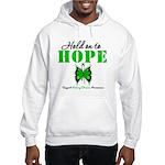 Kidney Disease Hold On To Hop Hooded Sweatshirt