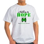 Kidney Disease Hold On To Hop Light T-Shirt