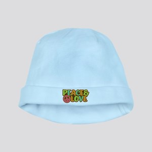 Peace & Love Hippie Baby Hat
